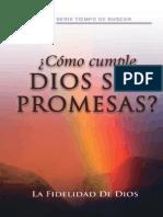 Como Cumple Dios Sus Promesas