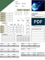 FFVII D20 Character Sheet