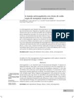 Anticoagulante Mecanismo de Coagulacion Con Citrato de Sodio