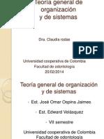 Teoría general de organización