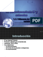 1.1 Direccionamiento IP