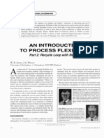 An Introduction to Process Flexibility Part 2 Recycle Loop With Reactor