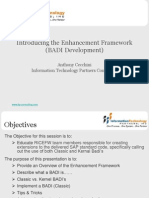 38384639 Enhancement Framework BADI Development