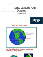 Longitude, Latitude and Datums
