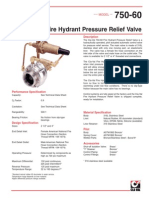 Fire Hydrant Relief Valve