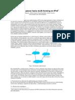 Primeros Pasos Hacia Multi-homing en Ipv6