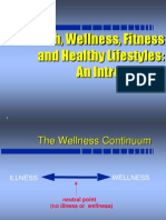 1 Introduction to Fitness and Wellness