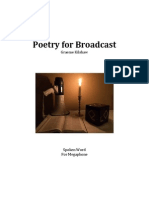 Poetry for Broadcast