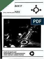 Roundabout Design