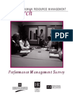 Performance Management Survey