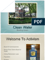 Clean Water Bowling Green Activist Aid