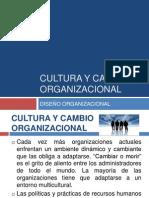 cultura y cambio organizacional DISEÑO ORGANIZACIONAL