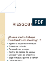 RIESGOS CRITICOS
