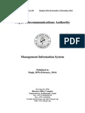 NTA-MIS-81 | Internet Service Provider | Mobile Phones