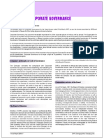 Report on Coprorate Governance 06-07