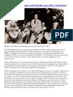 Agustin Barrios Mangore en El Salvador, Por El Dr. Carlos Payes