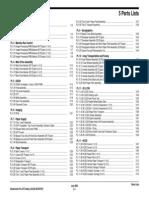 WC275 Parts List