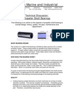 Technical Discussion - Cutless Bearings