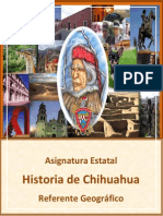 Referente Geogrc3a1fico de Historia de Chihuahua 2012