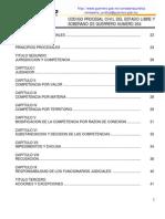 Codigo Procesal Civil Del Estado Libre y Soberano de Guerrero Numero 364