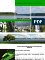 Nuevo Procedimiento Sancionatorio Ambiental