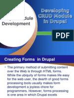 CRUD Module Development