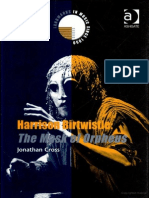Harrison Birtwistle Mask of Orpheus