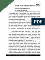 Bab II Gambaran Umum Kondisi Daerah Ukuran a5 RPJMD KOTA SURABAYA TAHUN 2010-2015