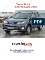Toyota RAV 4 Car Review & Buyers Guide