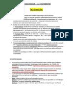 Apuntes Psicopatología - 1º Cuatrimestre