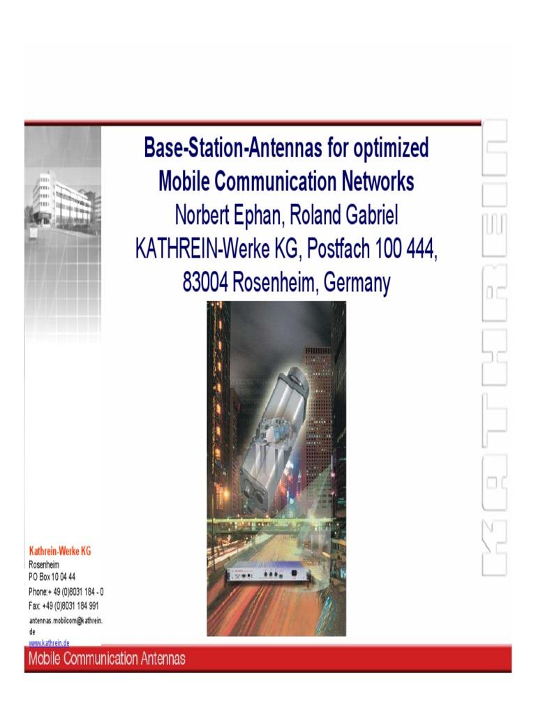 kathrein bts antenas concepts