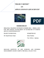 """""""PROJECT REPORT"""" ON """"RNAi AND ITS APPLICATIONS IN LIFE SCIENCES"""""""