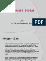 ISOLASI SOSIAL