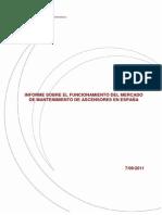 Informe Mantenimiento Ascensores_ESP