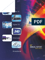Hathway Cable Annual Report 2013
