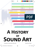 A History of Sound Art Booklet