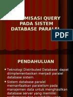 Optimasi Query Pada Sistem Database Paralel