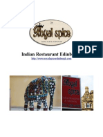 Indian Restaurant Edinburgh