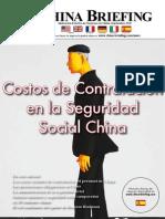 Costos de Contratacion en la Seguridad Social China