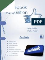 Fcaebook Acquisition 2014