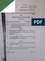 ADR Question Paper
