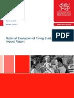 National Evaluation of Flying Start