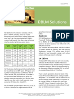 DBLM Solutions Carbon Newsletter 13 March 2014