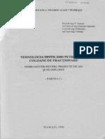 Tehnologia Distilarii Petrolului Coloane de Fractionare - Indrumator Pentru Proiecte de an Si de