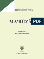 Ahmet Cevdet Paşa - Maruzat.pdf