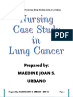 CASE STUDY IN LUNG CANCER BY; MAEDINE URBANO