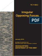 US Army Irregular Opposing Forces