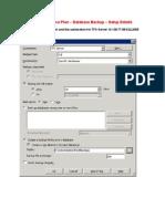 58 TFS Server Database Backup Plan Automation Doc