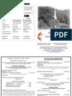10 18 2009 Web Bulletin