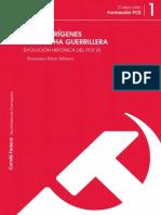 EVOLUCIÓN HISTÓRICA DEL PCE (I)